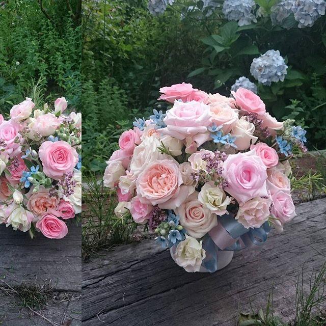 贈りものの優しげな花たちは、滋賀県と岡山県へお嫁に行きました。 - from Instagram